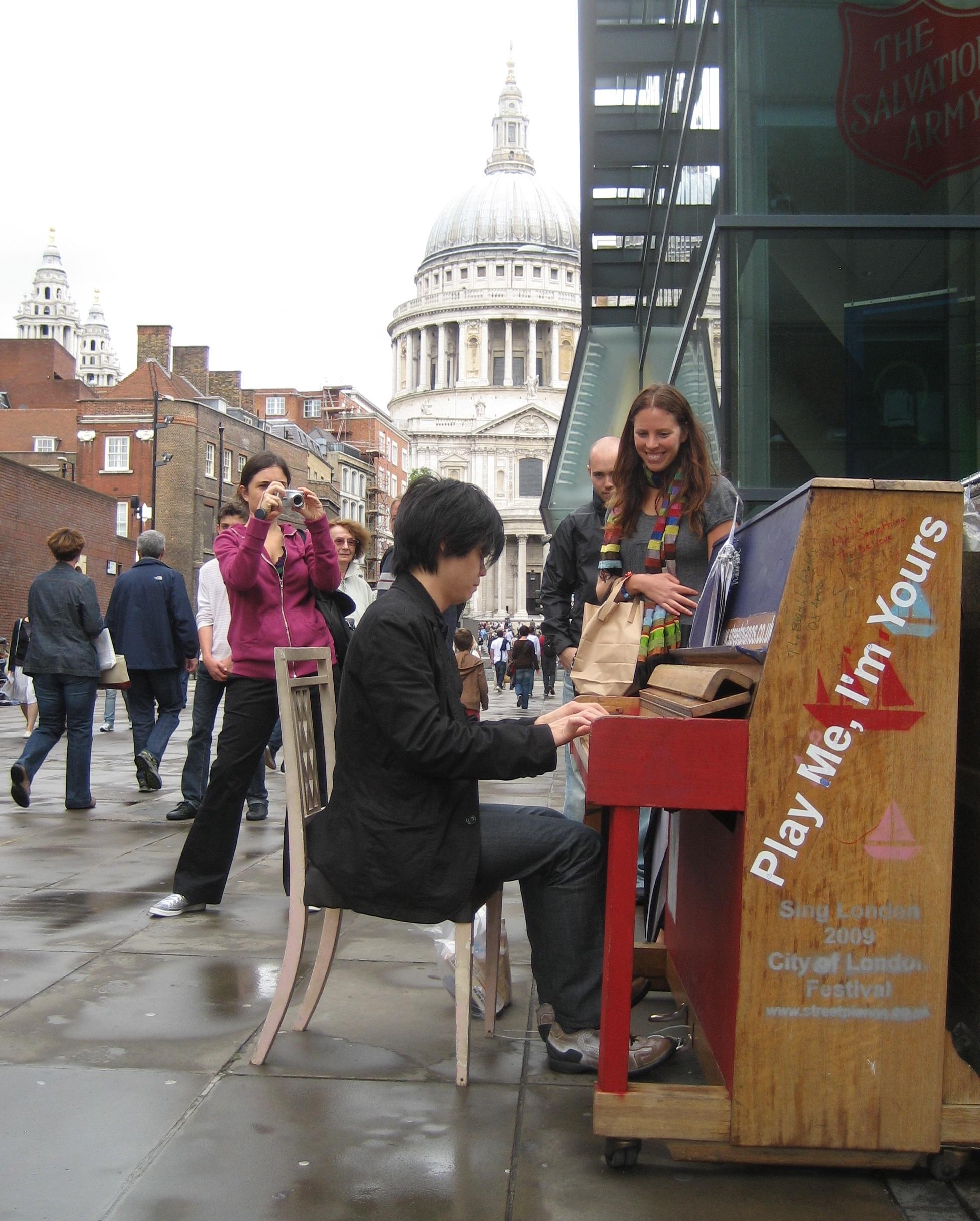 London piano
