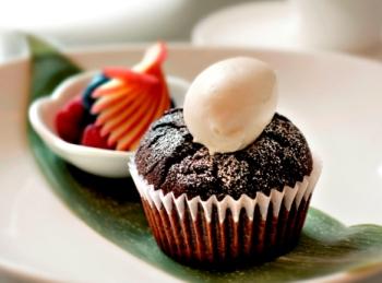 Kyotofu's award-winning cupcake